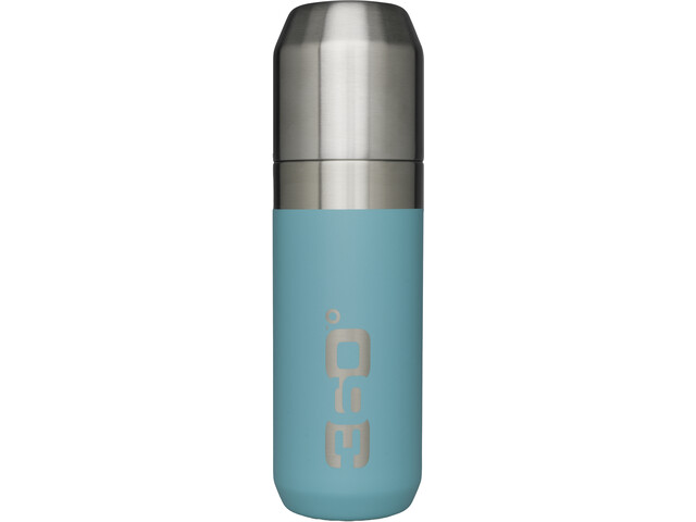 360° degrees Vacuum Insulated Stainless Flask with Pour Through Cap 750ml turquoise